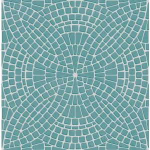 View Ceramica Teal Mosaic Wallpaper details