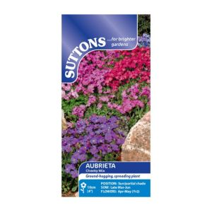 Image of Suttons Aubrieta Seeds Cheeky Mix
