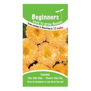 B&Q/Outdoors/Gardening/Suttons Beginners Calendula Seeds  Apricot Pygmy Mix