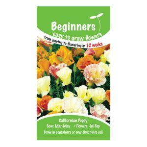 B&Q/Outdoors/Gardening/Suttons Beginners Californian Poppy Seeds  Tropical Punch Mix