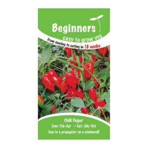 B&Q/Outdoors/Gardening/Suttons Beginners Chilli Seeds  Lantern Mix