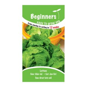 B&Q/Outdoors/Gardening/Suttons Beginners Lettuce Seeds  Webbs Wonderful Mix