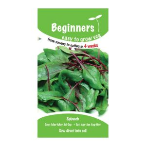 B&Q/Outdoors/Gardening/Suttons Beginners Spinach Seeds  F1 Ready Mix