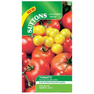 Suttons Tomato Seeds  Summer Sensation