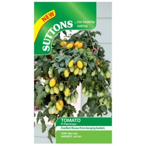 Suttons Tomato Seeds  F1 Pear Drops