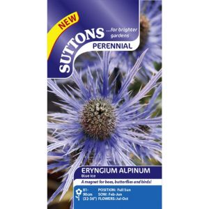 Image of Suttons Alpinum Blue Ice Seeds Non Gm