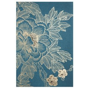 View Lhasa Lotus Gold & Teal Canvas (W)625mm x (H)925mm details