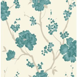 View Love Letter Teal Wallpaper details