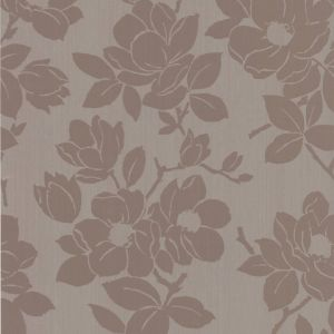 View Rose Floral Taupe Wallpaper details