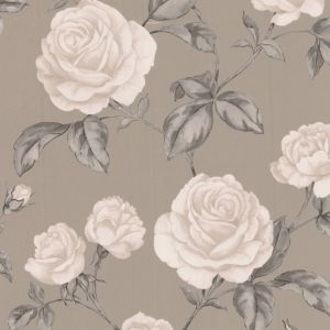 View Countess Floral Taupe Wallpaper details