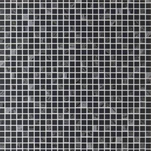 View Aurora Tile Effect Black Wallpaper details