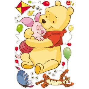 View Disney Winnie The Pooh Wall Stickers (L)1m x (W)700mm details