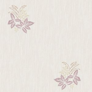 View Italiano Cream & Plum Vinyl Wallpaper details