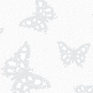 View Butterflies White Wallpaper details