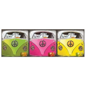 View Campervan Multicolour Wall Art (W)20cm (H)20cm details