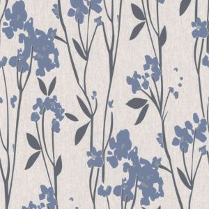 View Empathy Floral Blue & Cream Wallpaper details