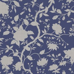View Botanic Prussian Blue Wallpaper details