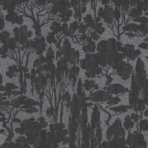 View Graham & Brown Paste The Wall, Not The Paper Tranquil Metallic Effect Black & Grey Wallpaper details