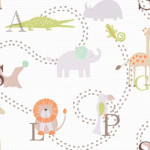 View Animal Nursery Children's Wallpaper details