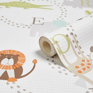 Animal Nursery Childrens Wallpaper