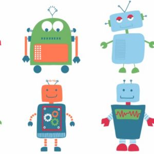 View Robot Children's Wallpaper details