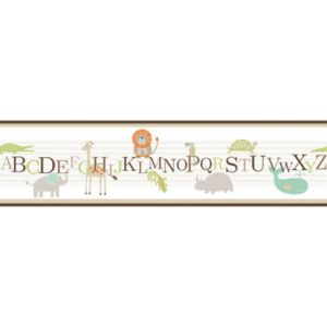 View Self Adhesive Animal Nursery Border details
