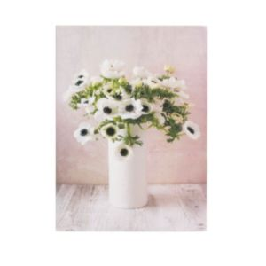 View Bouquet Pastel & White Canvas (W)50cm (H)70cm details