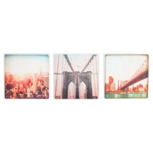 View New York Pastel Canvas (W)30cm (H)30cm details
