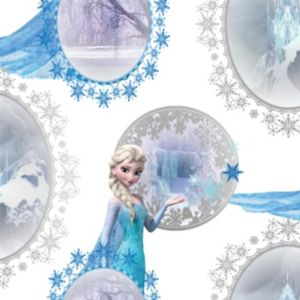 View Blue & Purple Disney Frozen Elsa Mica Effect Wallpaper details