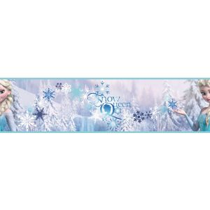 Disney Blue & Purple Snow Queen Border