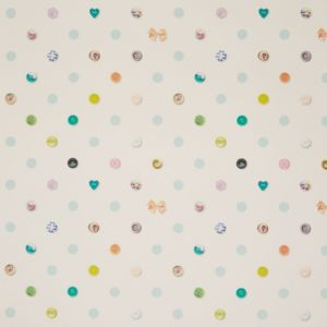 Graham  Brown Fresco Polka Dot Buttons Wallpaper  Departments