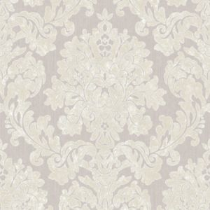 Image of Super Fresco Audley Silver Glitter Wallpaper