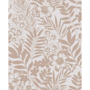 Image of Boutique Alice Leaf Metallic effect Wallpaper