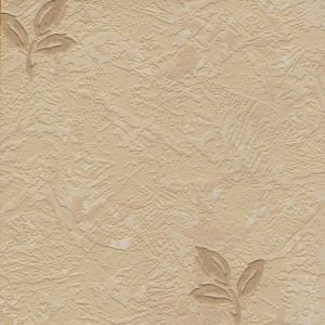 View Stencil Leaf Motif Beige Wallpaper details