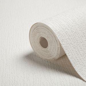 Image of Walldoctor White Bark Paintable Wallpaper
