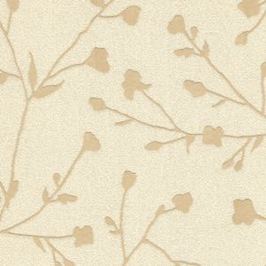 View Silhouette Floral Cream Wallpaper details