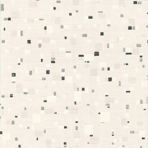 View Spa Black, Grey & White Tile Effect Vinyl Wallpaper details