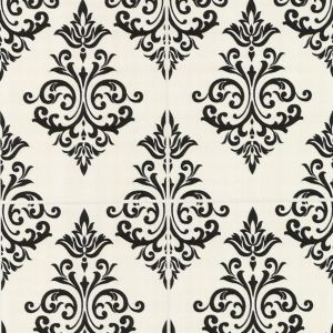 View Contour Pallade Vinyl Black & White Wallpaper details