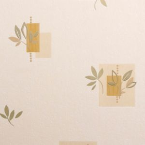 View Seasons Leaf Motif Cream Wallpaper details