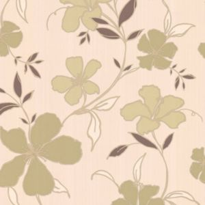 View Rapture Cream & Green Wallpaper details