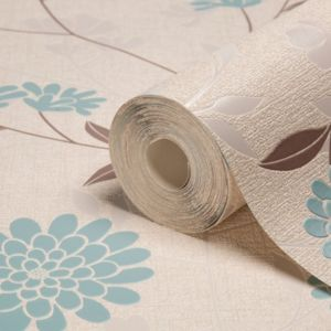 View Botanic Teal Wallpaper details
