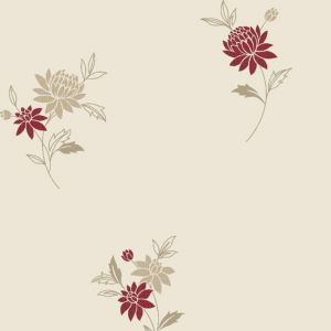 View Super Fresco Paste The Paper Rosalyn Red Wallpaper details