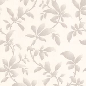 View Sarra Leaves Silver Effect Wallpaper details