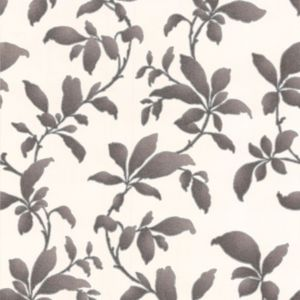 Photo of Graham & brown sarra black leaves wallpaper