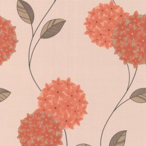 View Pippa Green, Orange & Pink Wallpaper details