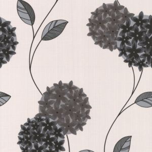 View Pippa Cream & Grey Wallpaper details