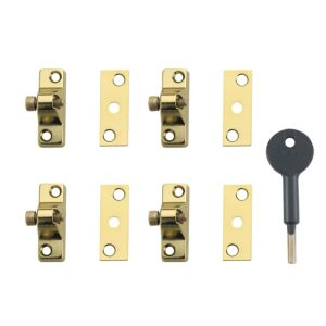 View Yale Brass Effect Window Lock details
