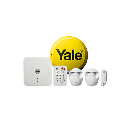 yale wireless smart home alarm kit departments diy at b q. Black Bedroom Furniture Sets. Home Design Ideas