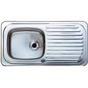 View Astracast Utility 1 Bowl Stainless Steel Sink & Drainer details