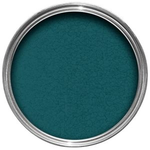 Image of Hammerite Dark green Hammered effect Metal paint 750 ml